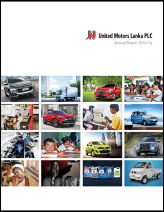 Cover Image for Annual Report 2015 / 2016