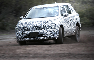 MITSUBISHI MOTORS Unveils Testing Footage of the All-New OUTLANDER