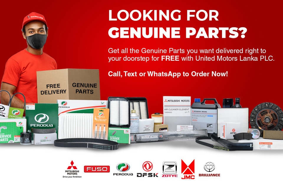 Looking For Genuine Parts?