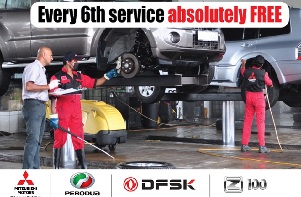 Get your 6th service absolutely free