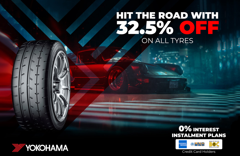Hit the Road with 32.5% off on all tyers